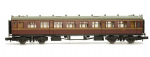 Dapol 2P-000-104 Collett Coach BR Maroon 2nd W1092